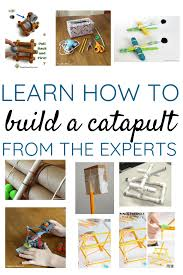 Simple Catapult Design How To Make A Catapult Using A Variety Of Materials