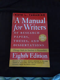 A Manual For Writers By Kate L Turabian Slims Blog