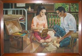 a painting of philippine culture