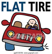 flat tires clipart. Simple Flat Vector Stock  Flat Tire Clipart Illustration Gg56728785 Intended Tires