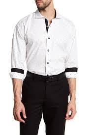 Maceoo Size Chart Maceoo Wall Street Dot Long Sleeve Regular Fit Shirt