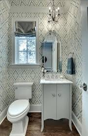 candice olson bathroom wallpaper in sink