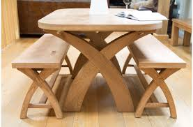 Small Oak Kitchen Tables Solid Wood Dining Table View In Gallery Solid Wood Table U2013