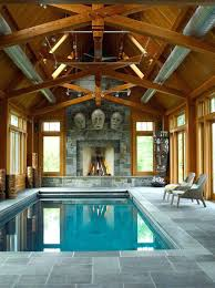 indoor pool house with slide. 50 Ridiculously Amazing Modern Indoor Pools Home Pool Plans House With Slide