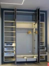 led closet lighting. Klus B1718_K7 - PDS4-ALU Series Deep Surface Mount Black Anodized Aluminum LED Profile Housing: Installed In Closet Led Lighting