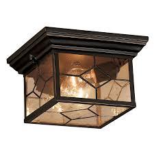 Shop Outdoor Flush Mount Lights At Lowescom - Flush mount exterior light fixtures