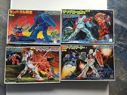 Suit Display Stands Gundam Mobile Suit Model Kits Set Of 100 Vintage Rare New With 96