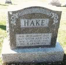 Benjamin Hake (1846-1899) - Find A Grave Memorial