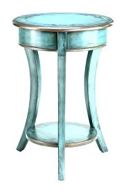 tall side table white high gloss small