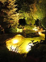 Koi pond lighting ideas Landscape Design Image By Bjl Aquascapes Waldobalartcom Backyardkoipondlandscapetraditionalwithbackyardkoipondbog1