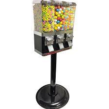 1800 Vending Candy Machines Beauteous Buy Triple Canister Vending Machine Vending Machine Supplies For Sale