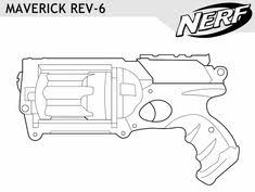 Innovative Ideas Nerf Gun Coloring Pages Collection Free Books View