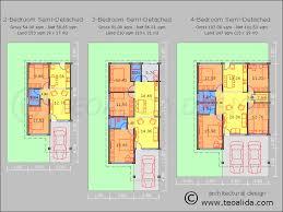 rumah teres 3 bilik tidur rumah berkembar 2 3 4 bilik tidur