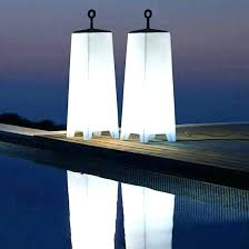 patio living concepts outdoor floor lamps lamp modern and traditional for white led la