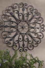 inspired by the ornamental ironwork of the new orleans garden district our gracie iron wall art boasts scrolled iron details that create playful negative  on new orleans outdoor wall art with inspired by the ornamental ironwork of the new orleans garden