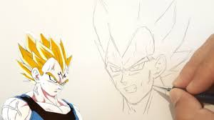 Comment Dessiner Vegeta Facilement Tuto Dbz Youtube Comment Dessiner Vegeta Dragon Ball Z Youtube L