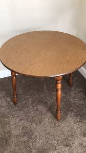 free 36 inch round table good condition furniture in hanover ma offerup