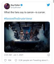 Patient in the good, the bad and the confused (2008). Ray Fisher Finally Supports The Idea With Zack Snyder S Vision By Utilising The Hashtag Restorethesnyderverse The Ubj