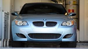 BMW E60 M5 Front Bumper Install/Removal DIY - YouTube