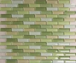 Green Tile Backsplash Kitchen Decoration Coloured Subway Tile For Kitchen Backsplashes