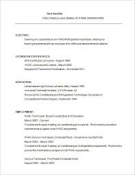 Resume Free Sample
