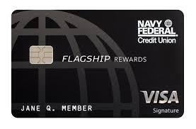navy federal visa signature flagship