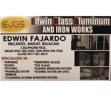 Edwin Glass Aluminum And Iron Works - Business Service - Angat, Bulacan |  Facebook - 53 Photos