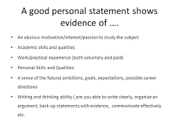 Ucas Day Tutor Lessons Task 1 What Makes A Good Personal