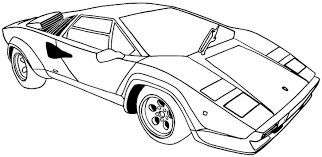 Car Printable Coloring Pages #1279