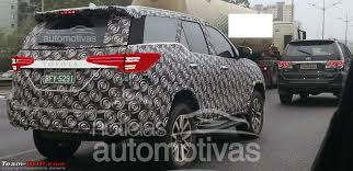 new car 2016 thaiNew Toyota Fortuner caught on test in Thailand  Page 3  TeamBHP