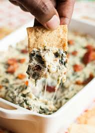 Cooking Light Spinach Artichoke Dip Bacon Spinach Artichoke Dip With Bacon