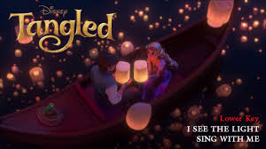 I See The Light Karaoke Tangled I See The Light Cover Male Part Only Karaoke Sing With Me Lower Key