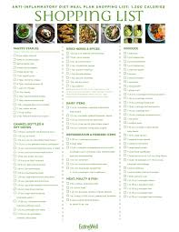 Diet Chart For 32 Year Old Woman 7 Day Anti Inflammatory Diet Meal Plan 1 200 Calories