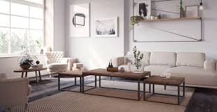 coffee table height size guide