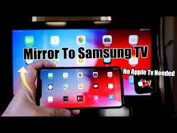 mirror iphone to samsung tv no apple