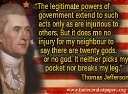 Thomas Jefferson Was Religiously Tolerant | The Last Bastille via Relatably.com