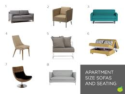modern furniture small apartments. Numbers Correspond With The Products Listed Below. Modern Furniture Small Apartments