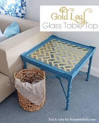 Diy Glass Table Top Ideas