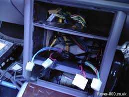 rover 800 820 825 827 electrical wiring fuse box to clock 4 wire connector for digital clock wired in keeping old connections