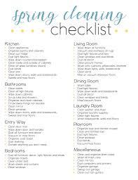Dicks Fresh Market Spring Cleaning Checklist