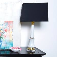 pair of midcentury italian marble column style lamps pair lamps99