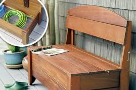 storage bench plans. Perfect Bench Recycled Pallet Storage Bench With Plans B
