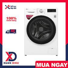 Máy giặt cửa trước LG Inverter 10.5kg FV1450S3W - điều khiển máy từ xa, Giặt  nước nóng, Giặt hơi nước, giao miễn phí HCM tại TP. Hồ Chí Minh