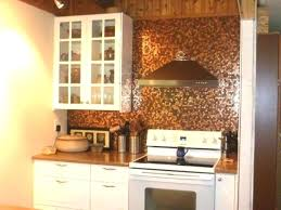 Kitchen With Glass Tile Backsplash Awesome Colorful Tile Backsplash Copper Kitchen Colorful Tile Glass Tile