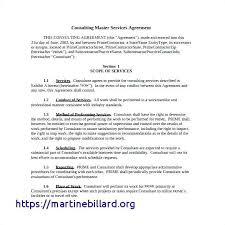 Consulting Agreement Sample In Word Enchanting It Consulting Services Agreement Template Consultant Agreement