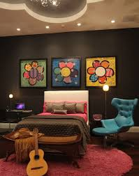 Make Your Own Funky Wall Art | 25 Bedroom Decorating Ideas for Teen .