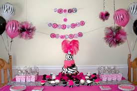 Leopard Print Party Decorations Animal Print Baby Shower Centerpieces Baby Wall