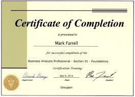 Certifications On Resume Certifications Mark P Farrell's eResume 44