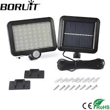 best outdoor security lights reviews aliexpress com boruit 56 led solar powered light with pir