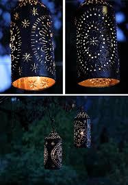 tin can lanterns tin can lights